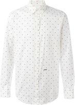 DSQUARED2 maple leaf shirt
