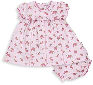 Kissy Kissy Baby's Strawberry Soiree 2-Piece Print Dress & Bloomers Set