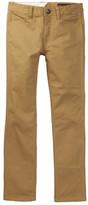 Volcom Gritter Tapered Leg Chino Pants (Big Boys)