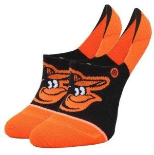 Stance Women's Baltimore Orioles Invisible No Show Socks