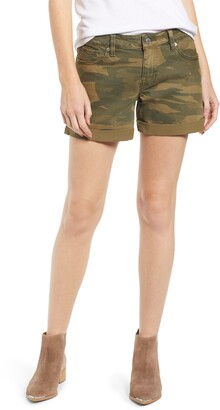 Lucky Brand Ava Roll-Up Shorts