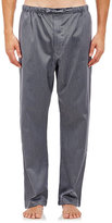 Barneys New York Men's Houndstooth Pajama Pants-Black