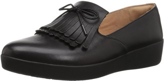 FitFlop Women's Superskate Fringe Loafer