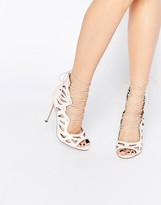 Asos PASTIME Lace Up Heels