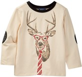 Andy & Evan Oatmeal Reindeer Top (Baby Boys)