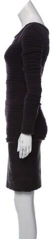 Thumbnail for your product : Jitrois Wool & Angora-Blend Dress Purple