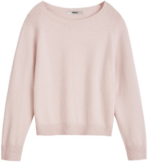 Zenggi Rose Eco Cashmere Crew Sweater - s