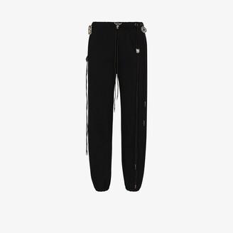 R 13 Multi-drawstring track pants
