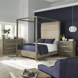 BEIGE Brayden Studio Raye Upholstered Canopy Bed Brayden Studio Size: Queen, Color