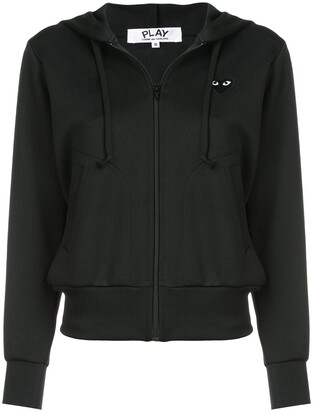 Comme des Garcons drawstring zip hoodie