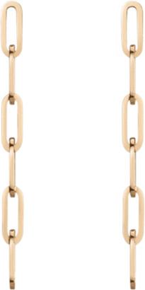 AUrate New York Sway Medium Chain Earrings Short