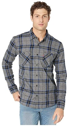 Levi's Crance Twisted Flannel Shirt (Caviar) Men's Clothing