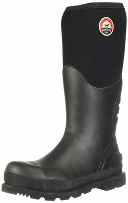 "Irish Setter Men's 89002 15"" Steel Toe Rubber Boot 8 E US"