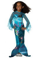 Rubie's Costume Co Blue Magical Mermaid Dress-Up Outfit - Girls