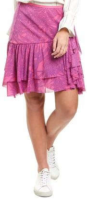 Diane von Furstenberg Paloma Mini Skirt