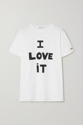 Bella Freud I Love It Printed Cotton-jersey T-shirt