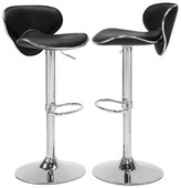 "Homelegance Moto 31"" Barstool Metal (Set of 2)"