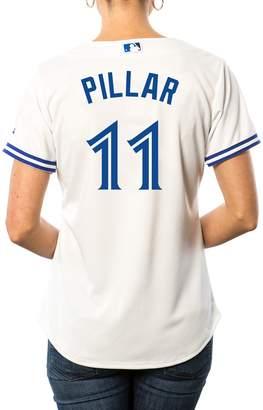 Majestic Ladies Kevin Pillar Toronto Blue Jays Cool Base Replica Home Jersey