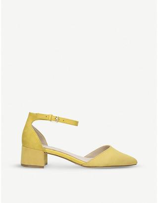 Aldo Zulian faux-leather block heels