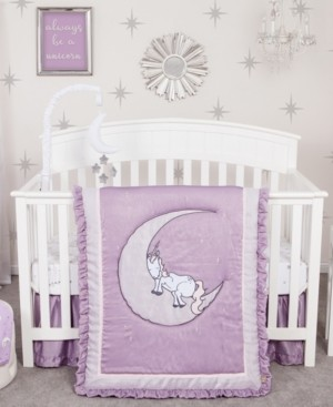 Trend Lab Unicorn Dreams 3-Piece Crib Bedding Set Bedding