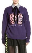 Marc Jacobs Women's X Mtv Logo Sweater