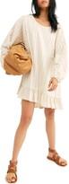 Free People April Long Sleeve Minidress