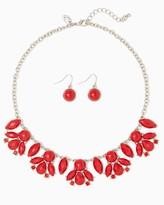 Charming charlie Kaya Cluster Necklace Set