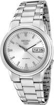 Seiko Men's SNXE89K Stainless-Steel Automatic Watch with White Dial