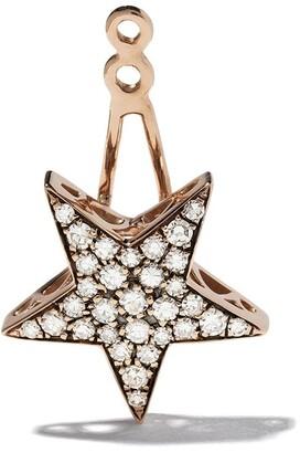 Selim Mouzannar 18kt rose gold diamond Star ear jacket