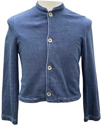 R By 45 Rpm Blue Cotton Top for Women