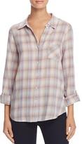 Joie Jerrie Plaid Button Down Shirt
