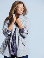 M&Co Plus parka jacket
