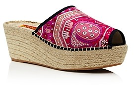 Respoke Women's Printed Wedge Heel Espadrille Sandals