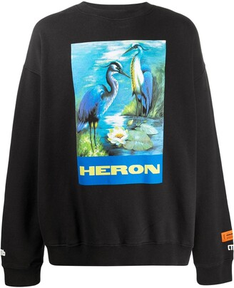 Heron Preston Graphic Print Sweatshirt