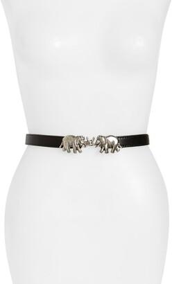 Raina Carraway Leather Belt
