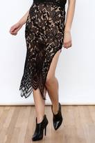 Hommage Lace Maxi Skirt