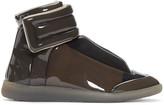 Maison Margiela Grey Transparent Future High-Top Sneakers
