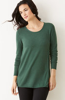J. Jill Wrap-Style Sweater