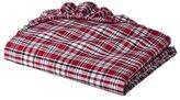 Bacati Plaids and Stripes Boys Red Crib Sheet