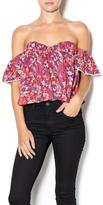 Cotton Candy Floral Sweetheart Top