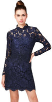Betsey Johnson Love In Lace Long Sleeve Dress