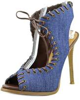 Nine West Hot Stuff Bleu Femmes Pompes
