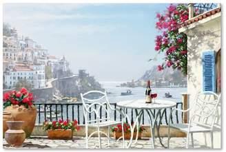 "Amalfi by Rangoni Trademark Fine Art The Macneil Studio 'Amalfi Coast' Canvas Art, 47""x30"""
