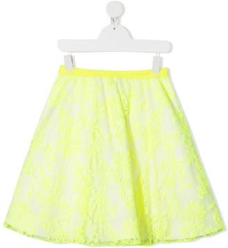 Mi Mi Sol TEEN embroidered floral skirt