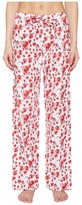 Emporio Armani Poppy Dream Cotton Loungewear Lounge Pants Women's Pajama