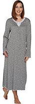 Carole Hochman Rose Bud Interlock Long Gown