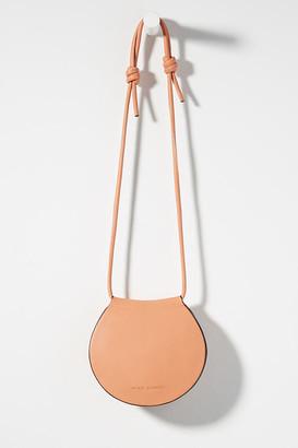 Melie Bianco Kayla Round Crossbody Bag By in Orange Size ALL