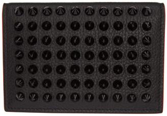 Christian Louboutin Black Sifnos Card Holder