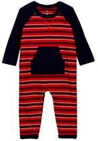 Tea Collection Taran Pocket Romper (Baby Boys)