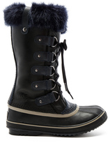 Sorel Joan of Arctic Obsidian Boot with Faux Fur